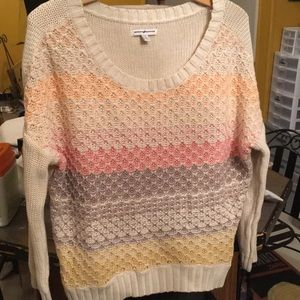 American Eagle 🦅 Outfitters Pastel Sweater Sz M